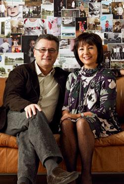 Дэвид и Луиза Скачетти, основатели бренда Mamas&Papas