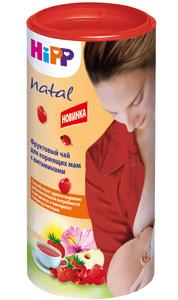 Фруктовый чай HiPP Natal для кормящих мам