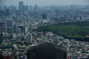 Вид на Токио со смотровой площадки Токийской мэрии