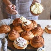 5 рецептов творожного крема для тортов и пирожных. Мало сахара