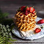 Что подать с ягодами? Вафли и блинчики из рисовой муки