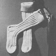 Носки – спицами. Вязание носков для начинающих