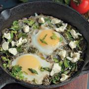 Что на завтрак? Яичный салат вместо омлета, шакшука вместо яичницы