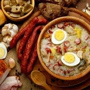 Польские рецепты с колбасками: суп журек и классический бигос