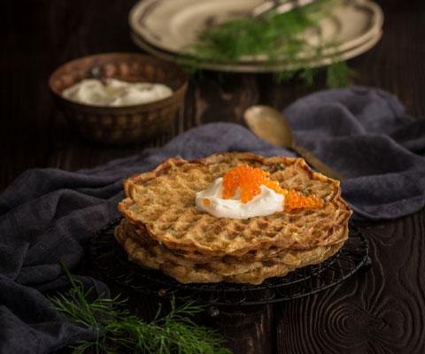 Картофельные вафли и лепешки: можно есть в пост. 2 рецепта