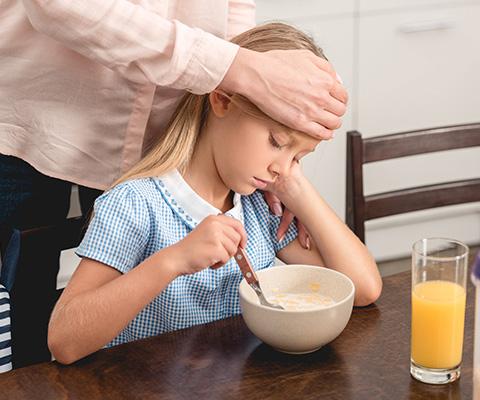Чем кормить ребенка при ОРВИ и гриппе?