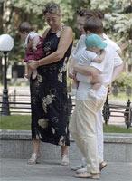 Демьян с бабушкой, Sleepy с Котей и ABDDavidoff