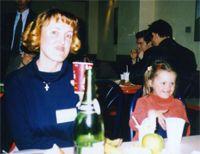 Оксана Безаева с дочкой Юлей