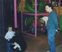 Модератор Natali с мужем и дочкой Мариной