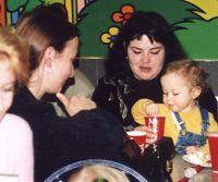 Эхомама и Мормыша с дочкой Лизой