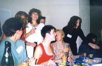 OLAV, мамочкА, Наташа С. (в белом), Лена Данилова, Татьянчик и Екатерина Озерова