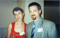 Лена Данилова  (Огневушка) и Леший