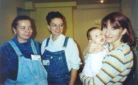 Luvilla, Фунтик, Ленка с дочкой Лизой