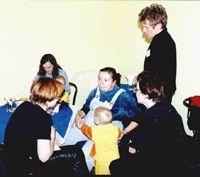 ??? (спиной), Настик, Luvilla с сыном Вовой, ???, ???