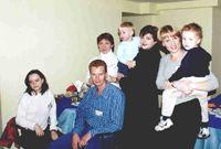 Модератор Natali, Повышев Алексей, Аквамаринчик, СВЕТка с сыном Алешей, Ирэна с сыном Никитой