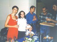 Лена Данилова (она же Огневушка), Модератор Natali с дочкой Мариной, Алексей Повышев и Владимир (муж Фунтика)