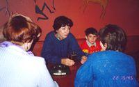 П-Оля с сыном, спиной: Галина, Toad