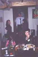 на заднем плане: Ирка, Леший, Ирис, на переднем плане: ЧерниКа с дочкой Мариной