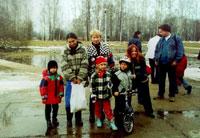 слева направо: Антоша+Наташа Кириенко, Иришка+Татьянчик, Ёж+Бреке Ке, Lem