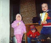 Маша, Марина и Никита