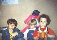 Егор (сын Бреке Ке), Алена (дочка Бабы Нюры), Марина (дочка Модератора Natali)