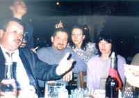 Жамбын без анекдотов - не Жамбын! Рядом - Ирис, Леший, жена Лешего Саша, Марина П.