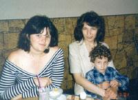 Ленка и Ярослава М. с сыном