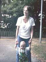 Никита с мамой Nichkой