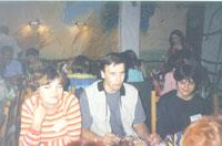 Ольга Ландау с мужем и Лиска