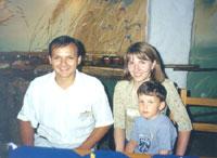 Васильковое семейство: Женя, Света и Санька