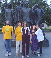 Скульптурная группа №1 (семейство Just'ов, Таник, Лорис, ЮляМ)
