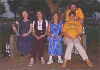 Посиделки на Миусской площади (Лорис, Таник, Крошъка, семейство Just'ов)