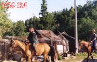 Ирина (зав.лошадьми :)), Юля (подруга O'Merry): 'Ну, в путь!'