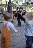 Муж Lita фотографирует Миленочку (Lita) и Роман (AJR)