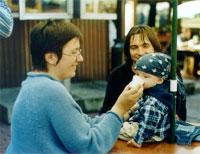 Зок с мужем и детиком