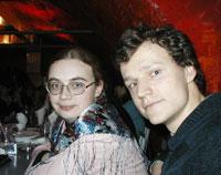 Emily с мужем Валерой
