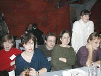 Лора_К, Черника, Винни Пух с женой Юлей, Полевка и Наталья Калугина