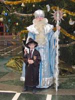 Ну и как же было не сняться с Дедом Морозом?