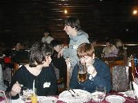 Ленка и O'Merry, на заднем плане - Женя Пайсон