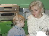 Юлия Бутурлина с сыном