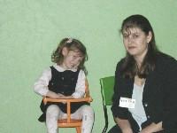 Мама Юля с дочкой