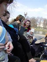 Лорис и Егор, Биги кормит Ваню, КатяШ по телефону говорит, Клякса и Полина