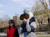 Косуля, Лорис и Егор