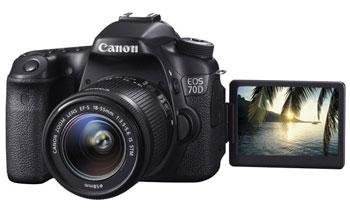 Цифровая зеркальная фотокамера Canon EOS 70D