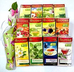 Полугодовой запас натурального чая Milford