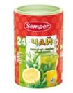 Чай зелёный с лимоном