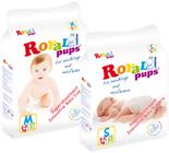 2 упаковки подгузников ROYALPUPS
