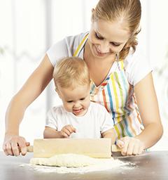 """Фотоконкурс """"Я и мой малыш на кухне"""""""