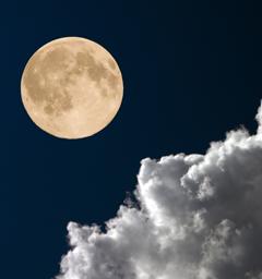 Блиц: луна