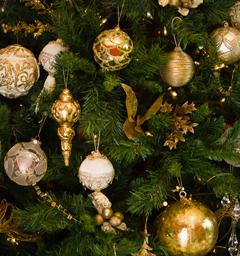 Блиц: новогодняя елка